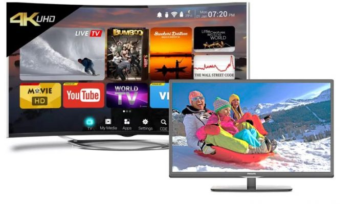 Smart TV and LED TV
